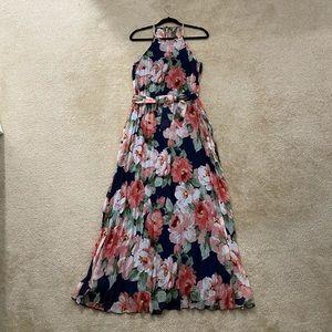 B. Darlin Pleated Maxi Dress.